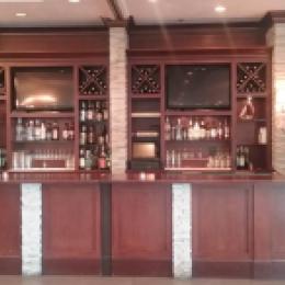 Banquet bar display